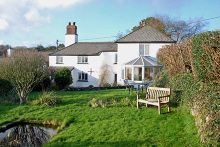 VILLAGE LOCATION WITH COUNTRYSIDE VIEWS - LAMERTON